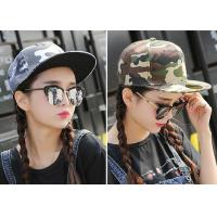 Buy cheap Cool Custom Caps Hats Embroidery / Camouflage Hip Hop Cap For Girls from wholesalers