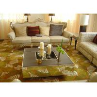 Buy cheap Yellow Hand Tufted Wool Carpet , Handmade Rugs For Living Room Banquet Hall from wholesalers