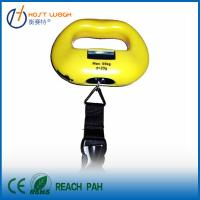 Buy cheap 55kg,Apple-type Portable Digital luggage scale,digital travel luggage weighing scale from wholesalers