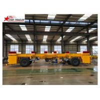 Buy cheap Heavy Duty Heavy Load Trailers , Chassis Frame Multi Axle Trailer from wholesalers