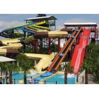 Adults / Kids Fun Space Bowl Water Slide 16m Height 1 Year Warranty