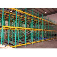 Buy cheap Heavy Load Dynamic Flow Pallet Rack Q235B Steel Storage Racking For Cold Supply Chain product