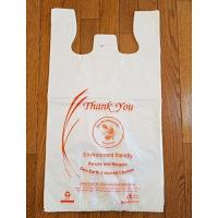 Buy cheap Reusable Biodegradable Plastic Shopping Bags Good Insulating Property With Logos product