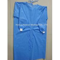 Buy cheap Hot Sale Disposable CPE Plastic Gown Thumb Hole Hospital Gowns from wholesalers