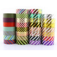 Buy cheap High Quality Printable Customize Patterns Acrylic Decorative Waterproof Adhesive Washi Tape In small Roll BAGEASE BAGPLA from wholesalers