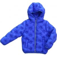 Buy cheap Solid Color Childrens Lightweight Down Jacket , Leisure Style Thin Kids Padded Coat from wholesalers