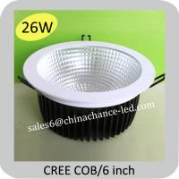Buy cheap 26W COB cree led down lighting CE, RoHS, SAA from wholesalers