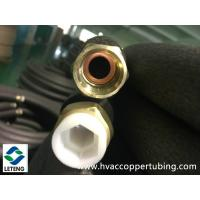 Buy cheap Hex Nuts Copper Plumbing Fittings , 0.8mm Wall Thick Copper TubeConnector from wholesalers