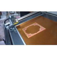 Buy cheap Decorative frame paperboard cnc cutting machine from wholesalers