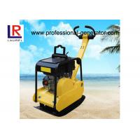 Buy cheap Construction Soil / Asphalt Vibrating Plate Compactor With Honda Engine 5.5hp Power product