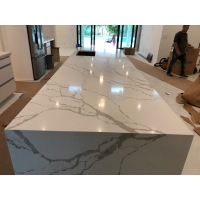 Buy cheap 125×65 Polished Quartz Stone Countertops For Home Decoration from wholesalers