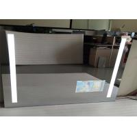 Buy cheap Frameless Mirror LED TV 32 Inch Polished Wall Mounted Safe Display Silver Color from wholesalers