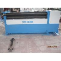 Buy cheap W11F-6X2000 mechanical asymmetrical 3 rolls plate bending machine equipment China Manufacturing hot sell from wholesalers