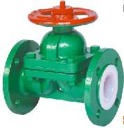 Buy cheap GB syandard weir pattern fluorine plastic lined diaphragm valve from wholesalers