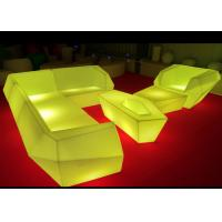 Buy cheap Multicolor Changing Led Light Up Furniture , Led Lighted Sofas Remote Control from wholesalers