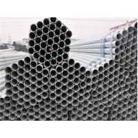 Buy cheap ST52  A53 A106 Round ERW Steel Galvanized Pipe / Tube Thick Wall For Water Gas Oil from wholesalers