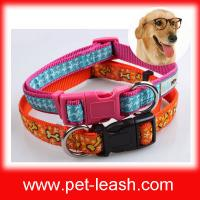 Buy cheap Double label nylon dog cat collars QT-0047 from wholesalers