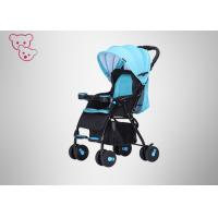 Buy cheap Textile Fabric  High Landscape Baby Stroller Iron Tube Frame Suspension Wheels from wholesalers