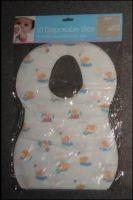 Buy cheap Eco Friendly Nonwoven Disposable Baby Bibs For Feeding SGS CE ISO OEM Service from wholesalers