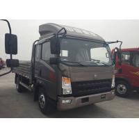 15 Ton Light Duty Trucks For Fruit Transport 160HP Engine 5200mm Wheel Base