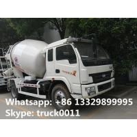 Buy cheap high quality and competitive price 3cbm Yuejin cement mixer truck for sale, factory sale best price small mixer truck from wholesalers