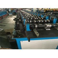 12m/min Shutter Roll Forming Machine , Channel Rolling MachineHydaulic Punching