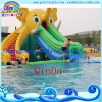 Buy cheap Inflatable Slide for Pool Ginat Inflatable Elephant Slide Water Slides for Sale from wholesalers