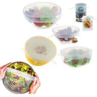 Buy cheap Kitchen Food Cover 6pcs or 7pcs or 8pcs Silicone Stretch Lid from wholesalers