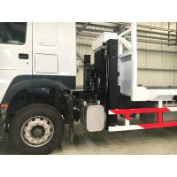 Buy cheap 10 Tires Sinotruk Howo7 Heavy Cargo Truck 30-40T Flatbed With Ladder 6x4 Euro2 371hp from wholesalers