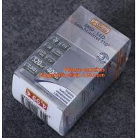 Buy cheap Uv Offset Printing Hard 0.3mm Pvc Transparent Box from wholesalers