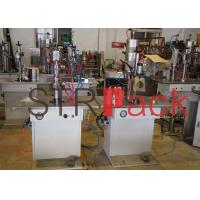 Buy cheap Recharging Semi-automatic Bag-on-valve Aerosol Filling Machine with PLC + touch screen from wholesalers