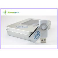 Buy cheap Promotional Metal Twist USB Stick with Free Logo Printing from wholesalers