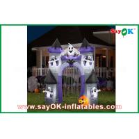 Buy cheap Double Stitch Inflatable Halloween Decorations / Castle Holiday Decoration from wholesalers