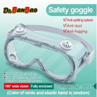 Buy cheap Anti Fog Medical Safety Eye Protection Goggles Chemical Resistant Goggles from wholesalers