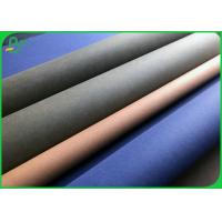 Buy cheap 0.55 MM Fabric Material Untearable Washable Kraft Paper Roll For Making Tote Bag from wholesalers