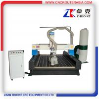 Quality ZKM-1325B 4*8 feet mesa sink Wood Engraving Machine with stainless steel water slot for sale