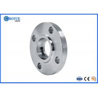 Buy cheap RF FF RTJ Type Socket Weld Flange , Nickel Alloy Flanges ASTM B564 UNS N08031 from wholesalers