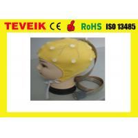 Buy cheap Integrated 20 Leads Ear Clip EEG Hat / Cap With Tin electrode from wholesalers