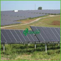 Buy cheap 15 MW aesthetics of solar power plants With Aluminum Bracket from wholesalers
