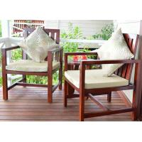 Buy cheap Customized Garden / Balcony Wooden Lounge Chair Solid Wood Outdoor Furniture from wholesalers
