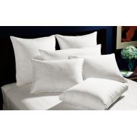 Buy cheap Home And Hotel Duck Down Pillows Piping Design Size 60 * 90 60 * 60 from wholesalers
