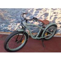 Buy cheap Pedal Assisted Fat Tire mountain Bike Steel Front Fork electric powered bicycle from wholesalers