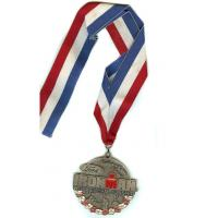 Buy cheap Customized Sports meeting Zinc alloy Medallion custom medals, for Souvenir and gifts from wholesalers