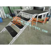 Buy cheap Aluminum assemble portable stage mobile stage simple stage used on ramp from wholesalers