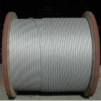 Buy cheap Anti Static Aluminium Clad Steel Wire , Aluminum Stranded Wire ISO 9001 Certification from wholesalers