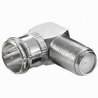 Buy cheap F Right Angle adapter Quick Male To F Female from wholesalers
