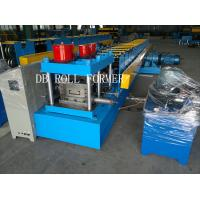 Buy cheap 11 KW Hydraulic Unit Steel C Purlins Roll Forming Machine with Automatic Measureing from wholesalers
