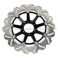 Buy cheap High Performance Motorcycle Floating Brake Rotor Riveted With Aluminum Alloy Carrier product