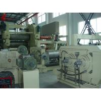 Buy cheap High precision Four Roll paper calendering machine Oil heating from wholesalers