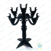 Buy cheap Crystal Pewter Candle Holder product